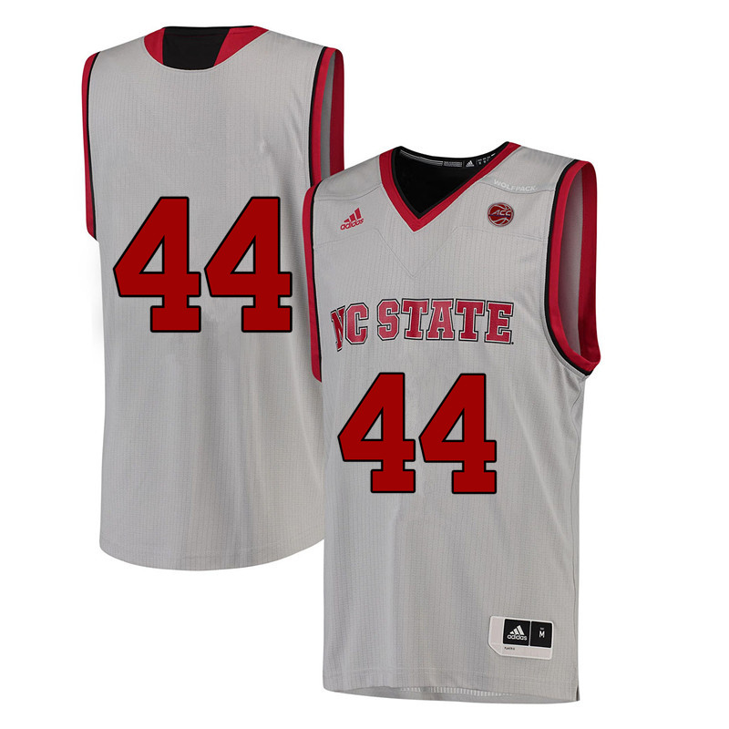 Men #44 David Thompson NC State Wolfpack College Basketball Jerseys-White