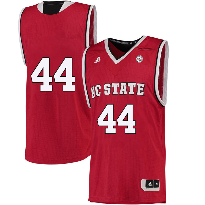 Men #44 Nae Nae Cole NC State Wolfpack College Basketball Jerseys-Red